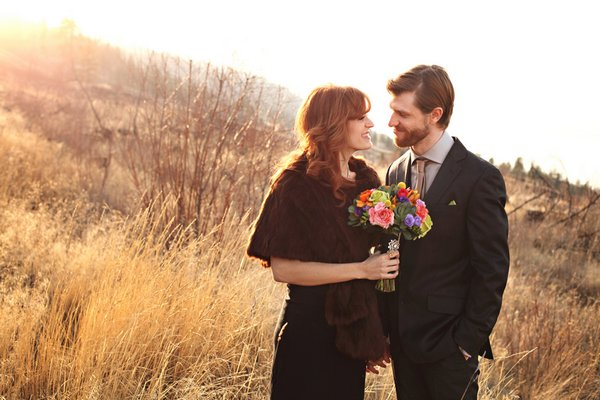 Intimate  Boho B.C. Wedding