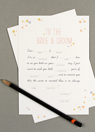 printable wedding mad libs
