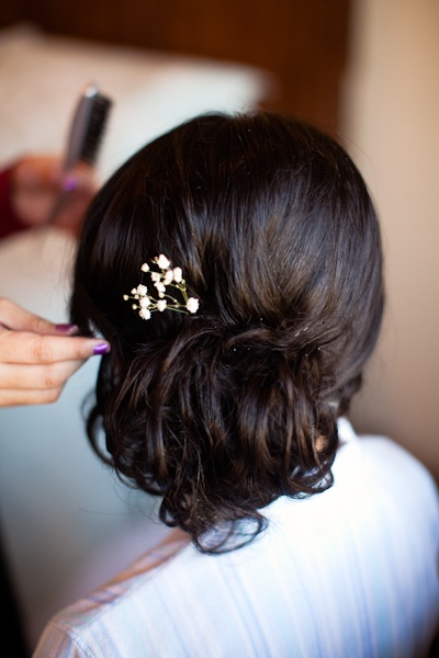 baby's breath updo