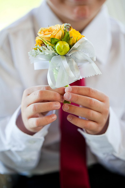 mini yellow bouquet