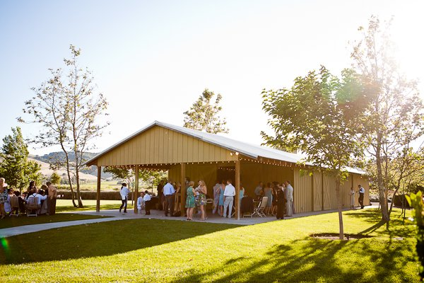 outdoor wine country wedding