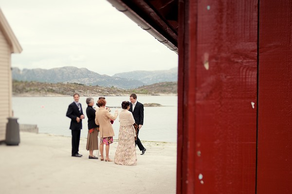 Norwegian elopement ceremony