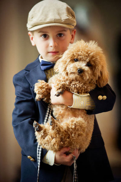 ring bearer fashion