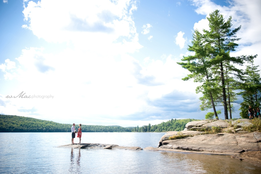 algonquin park wedding