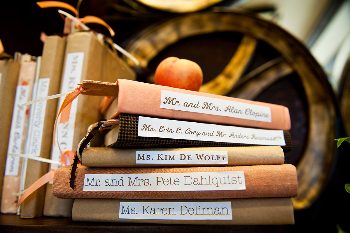 book favors