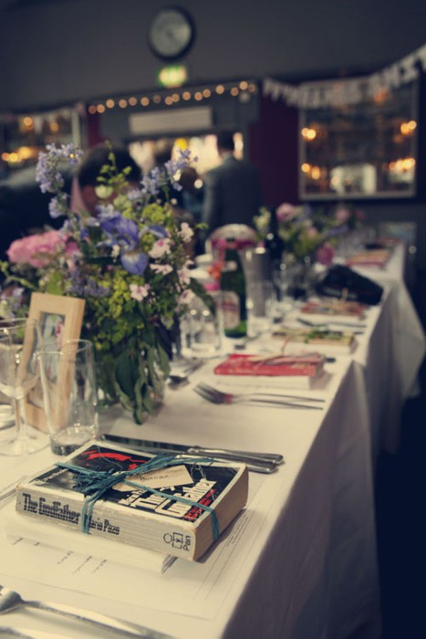 Second Hand Books As Wedding Favors