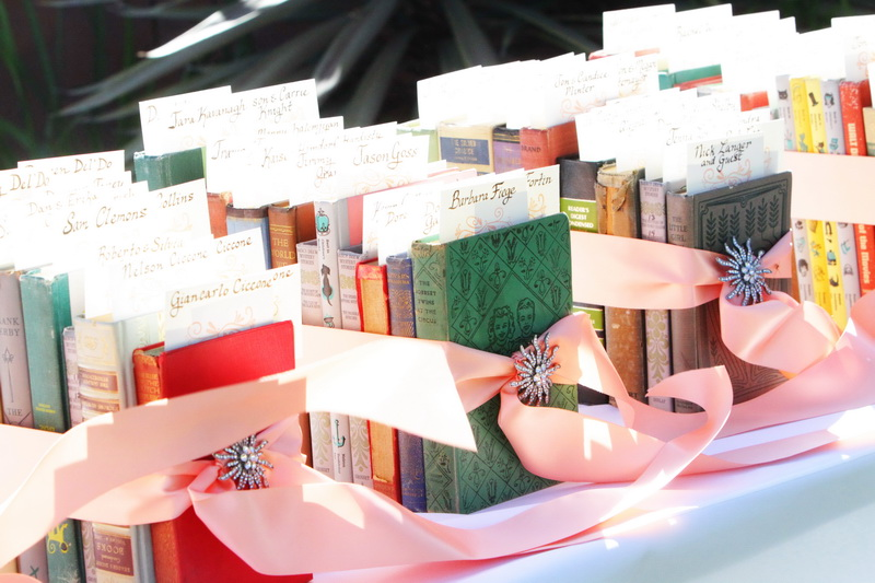 Book Wedding Favors