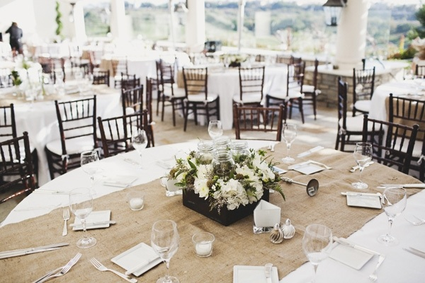 Wedding Table Runner Ideas