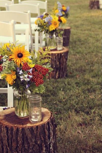 Wedding Flowers Wildflowers