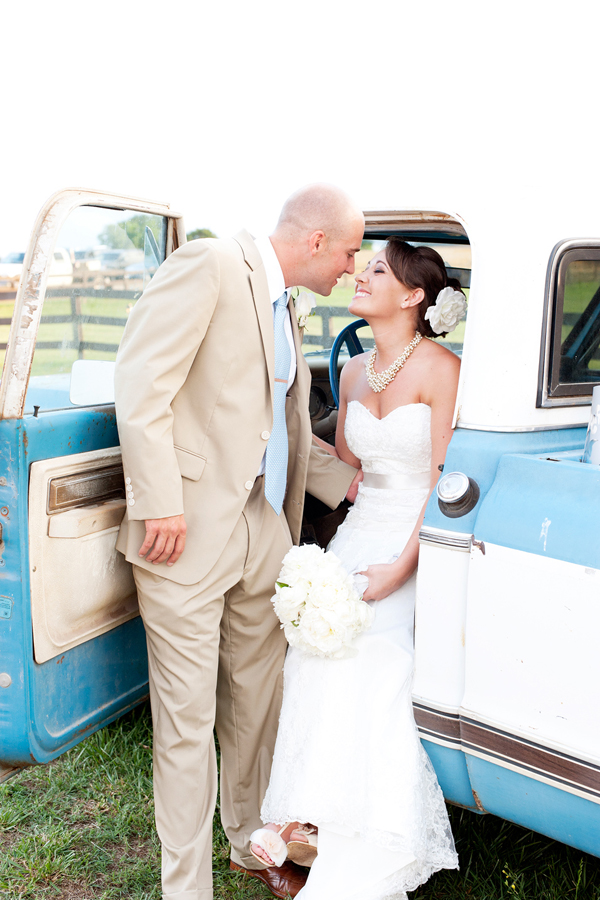 pick up truck wedding