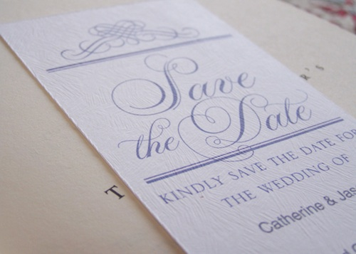 Printable save the dates
