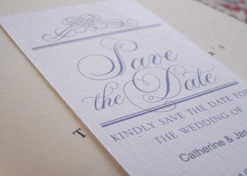 Printable save the dates