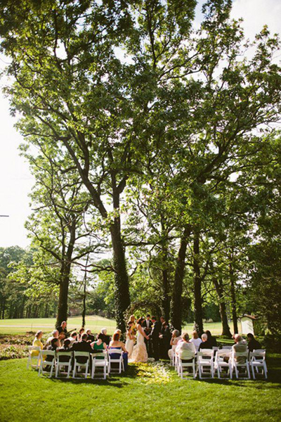 North Carolina backyard wedding