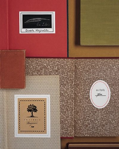 Bookplate templates