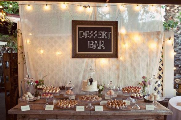Diy dessert table for Backdrop para mesa de dulces