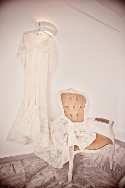 lace Elie Saab wedding dress