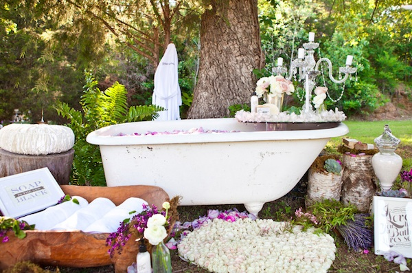 Spa Bridal Shower