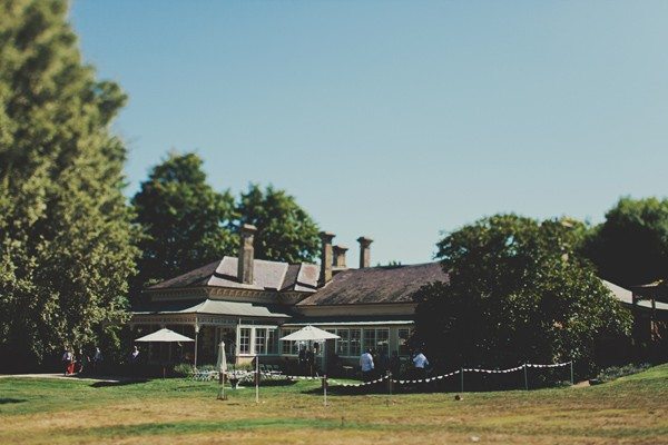 Australian homestead wedding ceremony