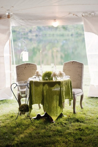 Wedding Trends Sweetheart Tables