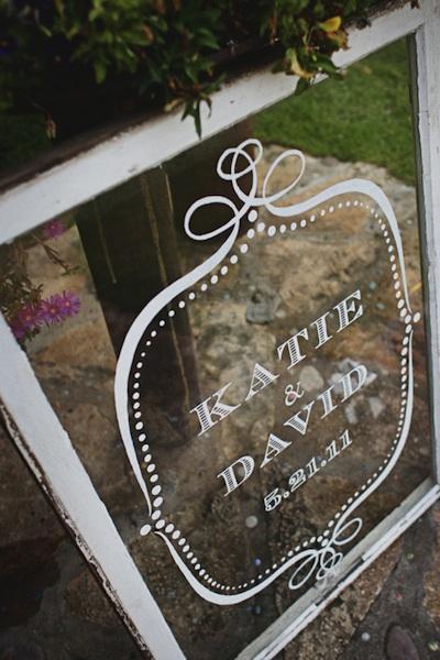 Vintage Finds Old Windows As Wedding Decor