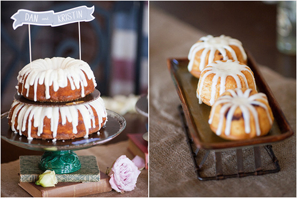 bundt cakes wedding