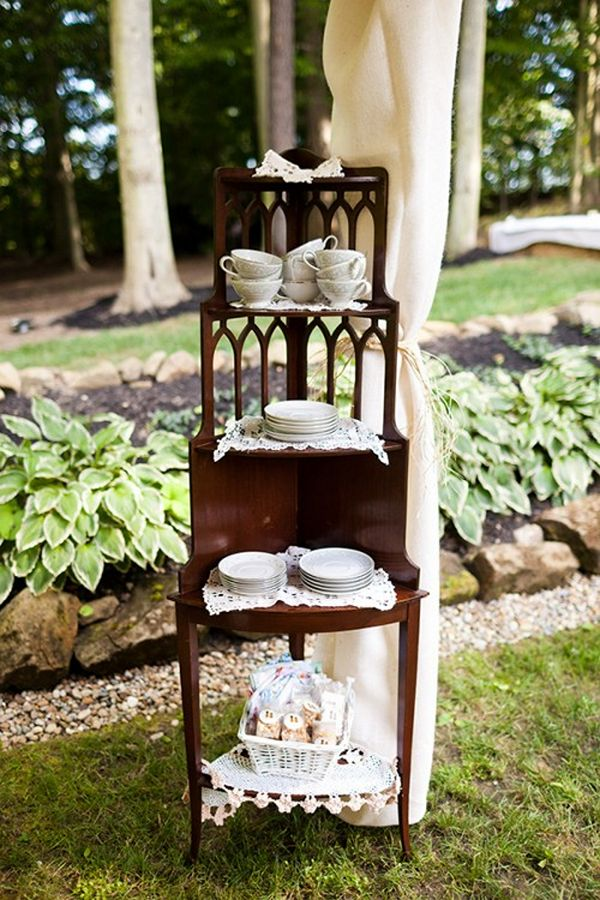 rustic wedding china