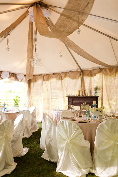 Sarah and Zac's $7,000 Backyard Wedding