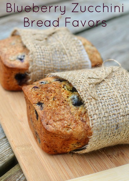 blueberry zucchini loaf