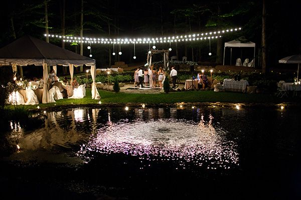 real backyard wedding