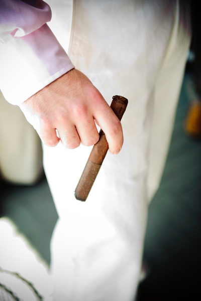 wedding cigar
