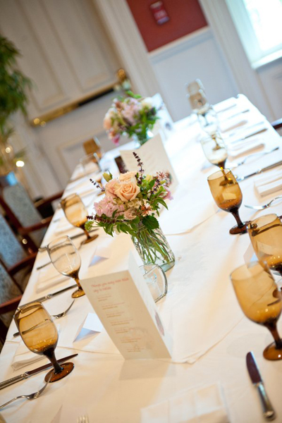 North Carolina restaurant wedding reception