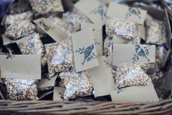 birdseed confetti