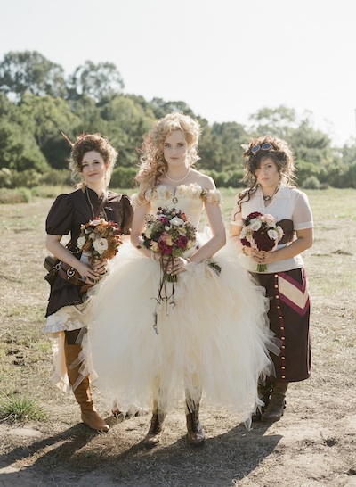 Wedding Trends Victorian Steampunk