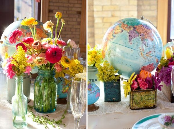 wedding globe