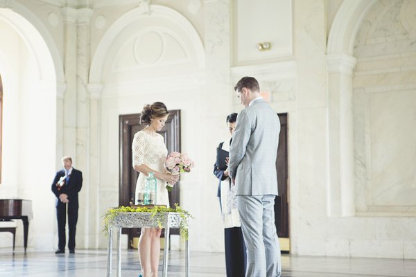 Southern courthouse elopement