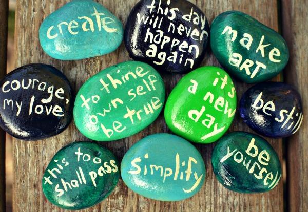 message stones