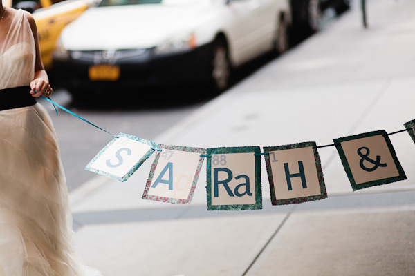 periodic table wedding banner