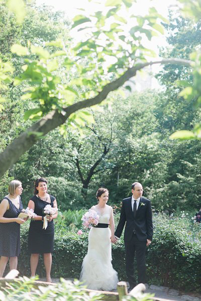 central park wedding ceremony