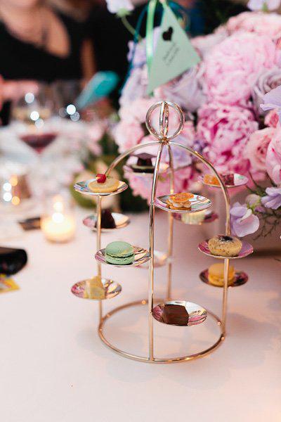 Per Se wedding desserts