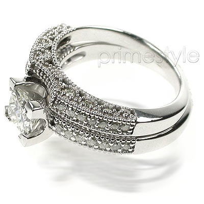 Vintage Wedding Ring Set