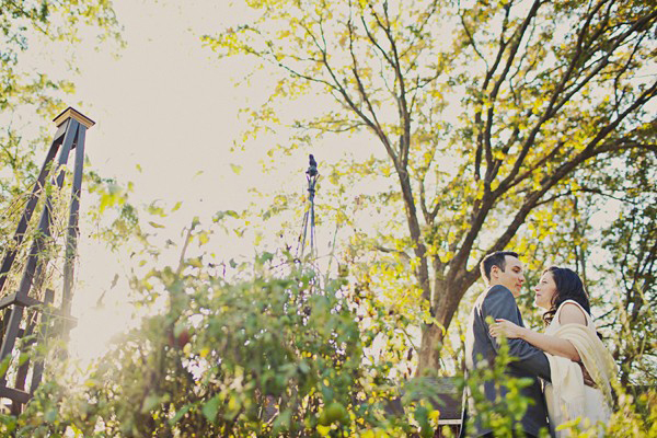 Urban farm wedding
