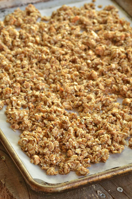 wedding granola