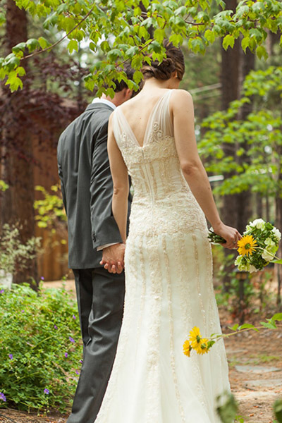 Lake Tahoe Outdoor Wedding Reception