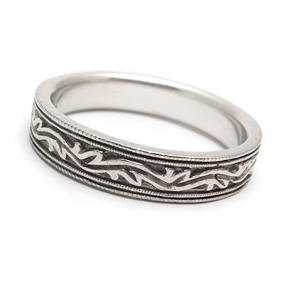 vintage men's engagement ring