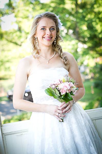 Main Street Manor wedding