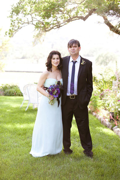 intimate santa rosa wedding