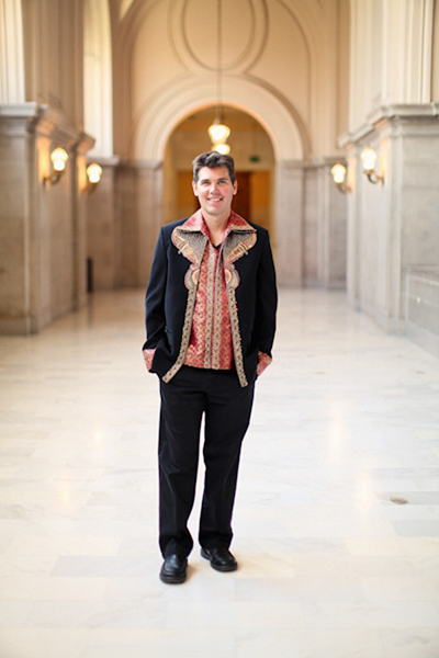 groom at San Francisco city hall