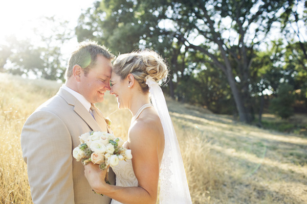 California at-home wedding