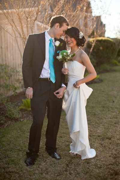 Texas at-home Wedding under $1000