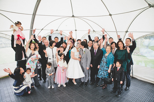 New Zealand wedding family portrait